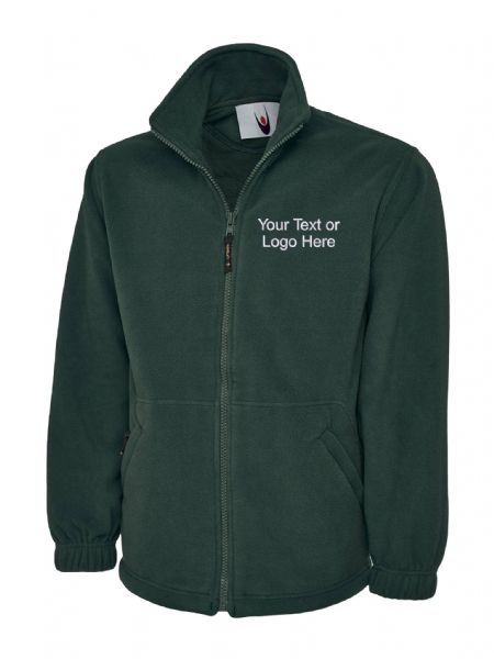 UC604 Classic Full Zip Fleece Jacket